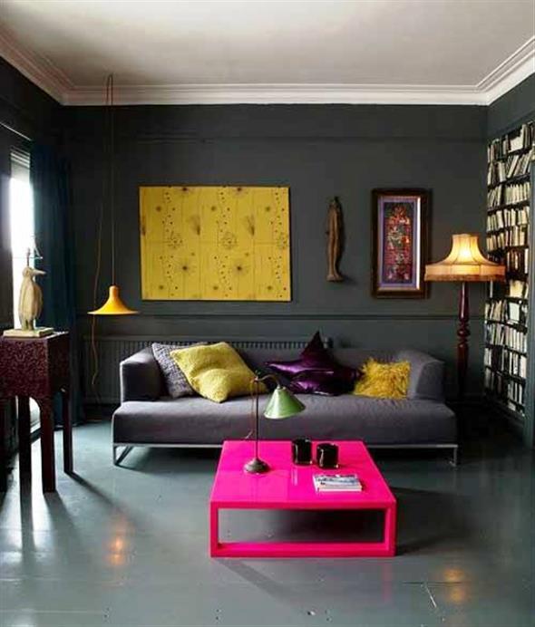 Amarelo na decoração 021