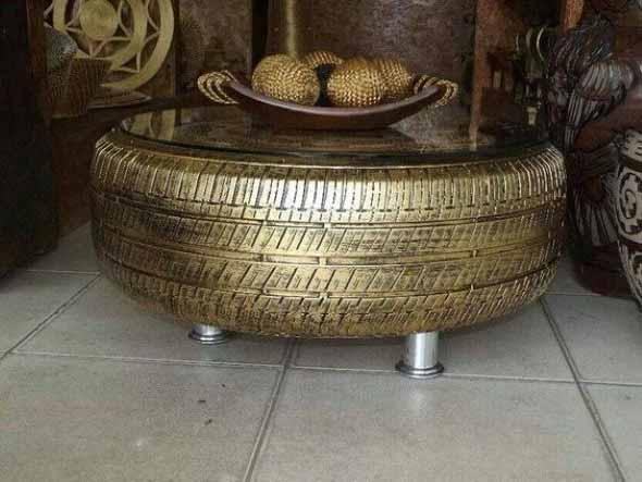 Como fazer uma mesa com pneu usado 013