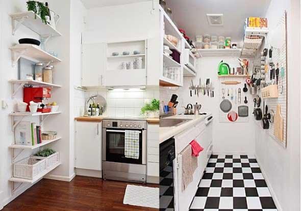 Dicas para aumentar o espaço da cozinha pequena 004