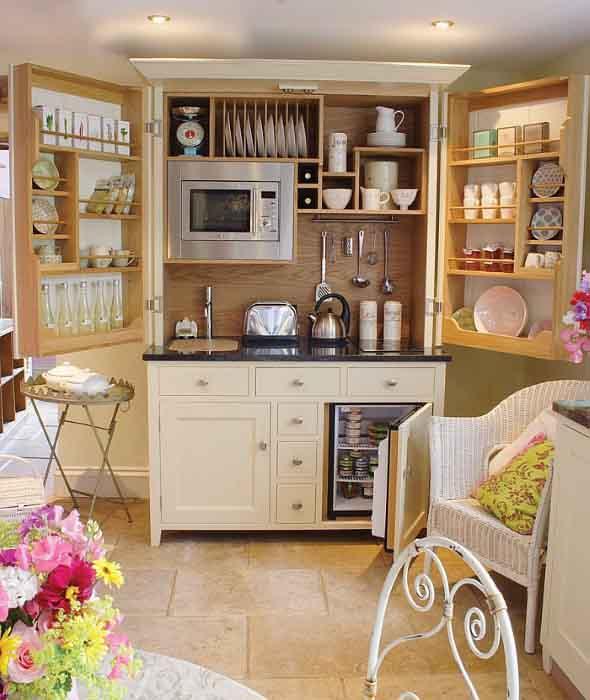 Dicas para aumentar o espaço da cozinha pequena 005
