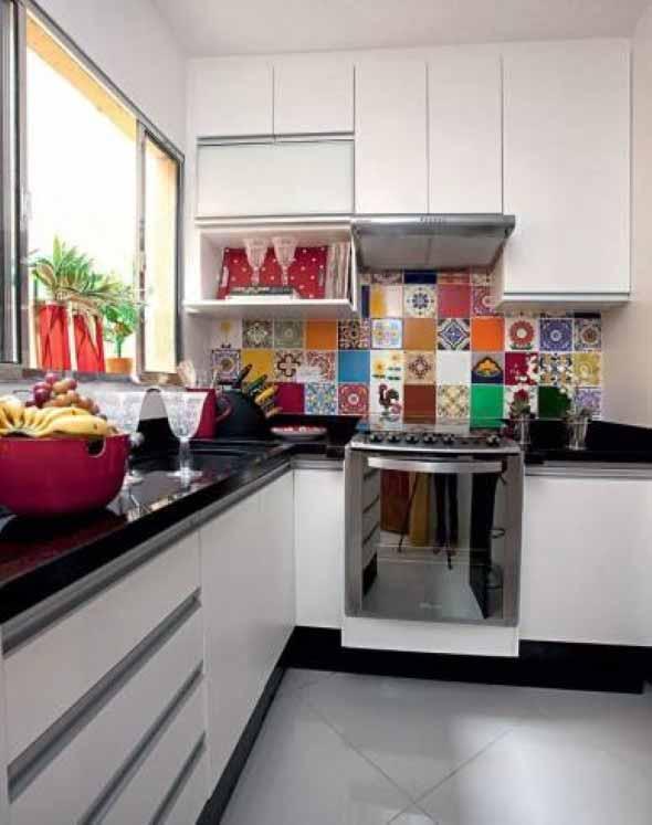 Dicas para aumentar o espaço da cozinha pequena 008