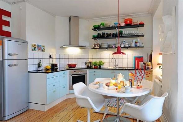 Dicas para aumentar o espaço da cozinha pequena 009