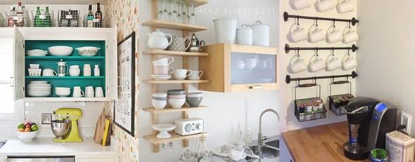 Dicas para aumentar o espaço da cozinha pequena 017