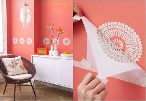 Objetos inusitados para pintar as paredes da casa 008