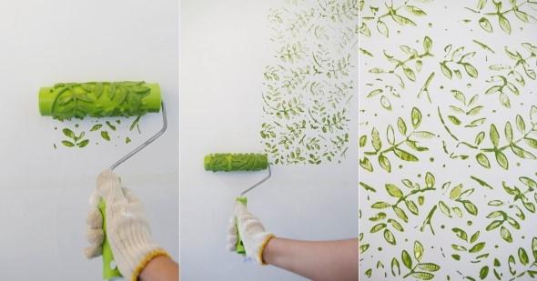 Objetos inusitados para pintar as paredes da casa 009