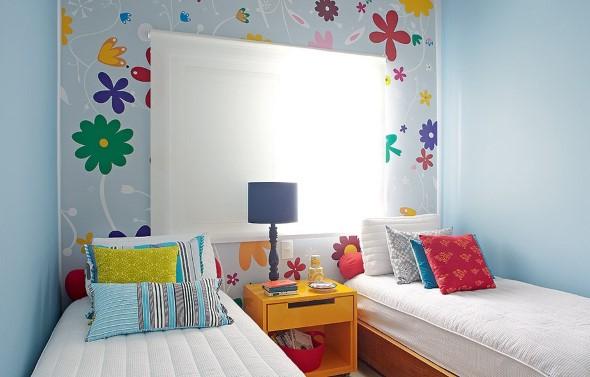 Pintura divertida no quarto das crianças 001