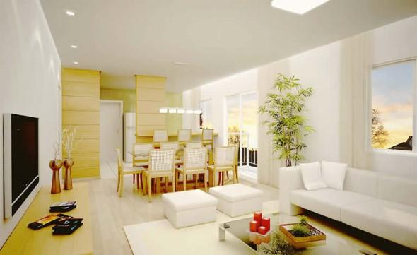 Sala integrada – Mais espaço no AP 014