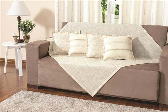 Combinações de almofadas e mantas na decoração 009