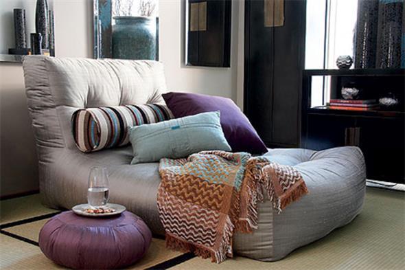 Combinações de almofadas e mantas na decoração 014