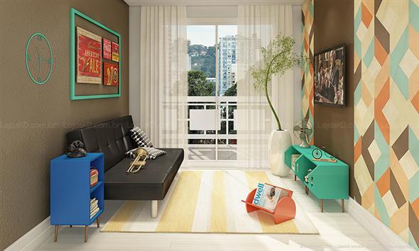 Como harmonizar a decoração de sua sala de estar 003