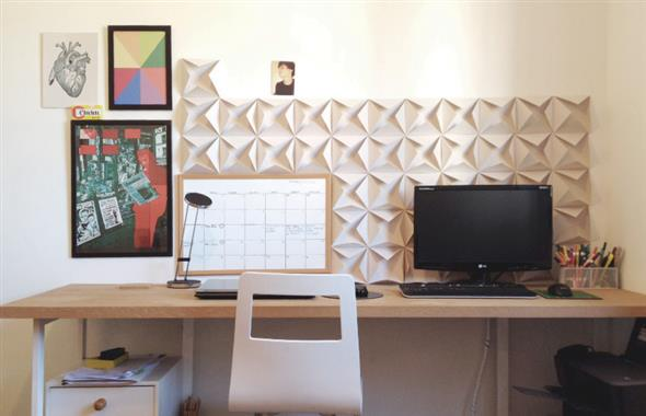 Idéias DIY para decorar paredes vazias 003