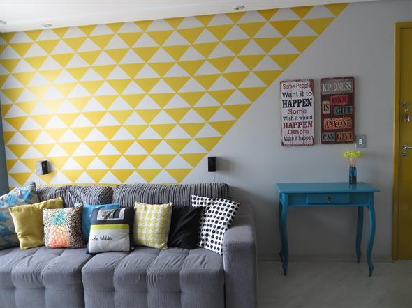 Idéias DIY para decorar paredes vazias 012