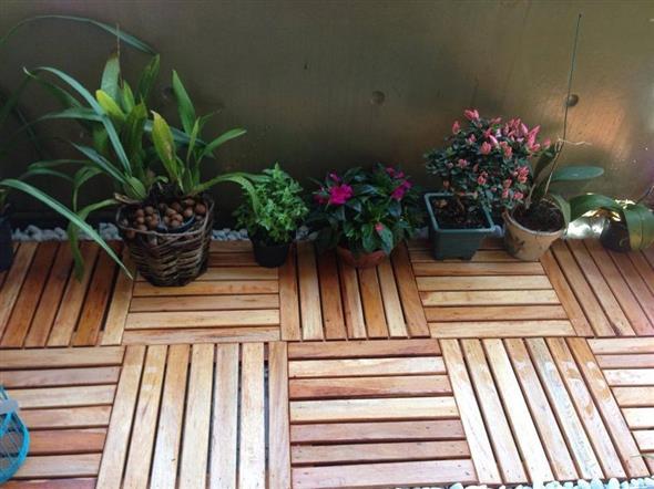 Maneiras para usar decks de madeira na decoração 001