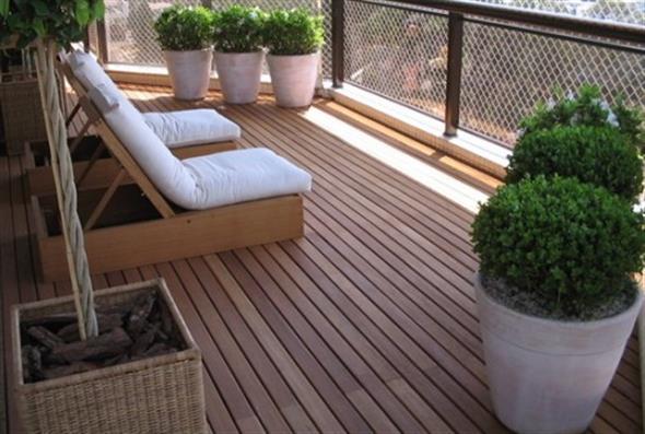 Maneiras para usar decks de madeira na decoração 003
