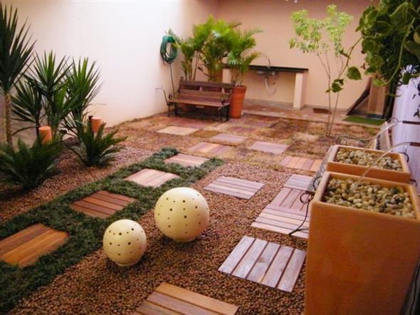 Maneiras para usar decks de madeira na decoração 006