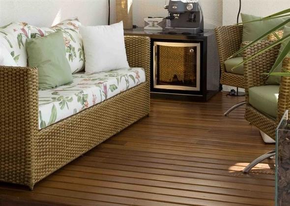Maneiras para usar decks de madeira na decoração 007
