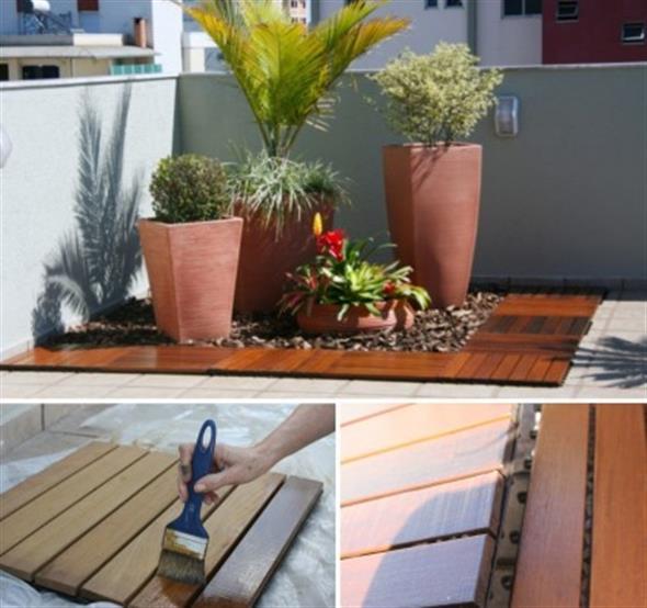 Maneiras para usar decks de madeira na decoração 009
