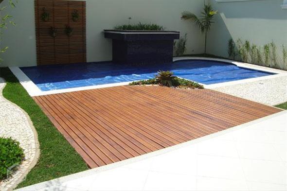 Maneiras para usar decks de madeira na decoração 010