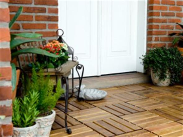 Maneiras para usar decks de madeira na decoração 011