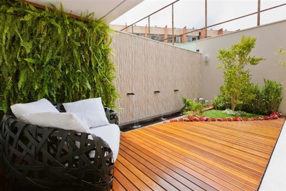 Maneiras para usar decks de madeira na decoração 012