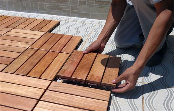 Maneiras para usar decks de madeira na decoração 015