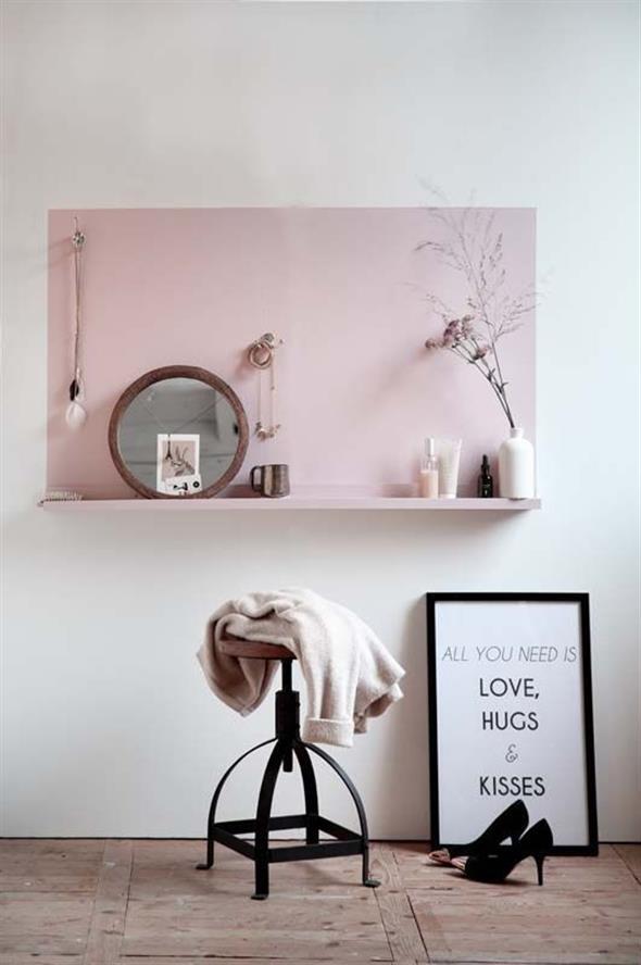 Pintura para separar pequenos espaços 018