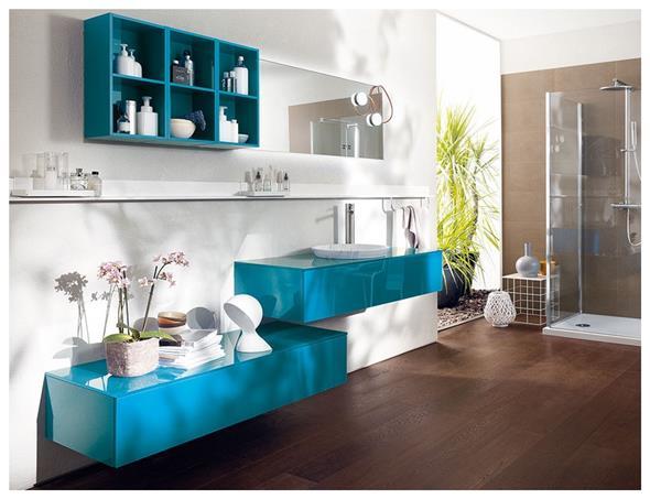 Prateleiras e nichos para banheiro 002