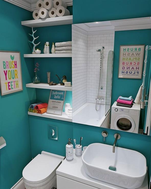 Prateleiras e nichos para banheiro 015