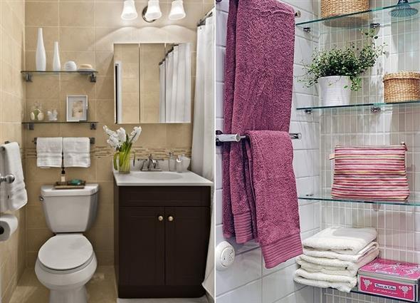 Prateleiras e nichos para banheiro 016