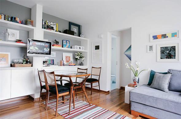 decoração para apartamento conjugado 004