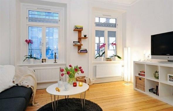 decoração para apartamento conjugado 005