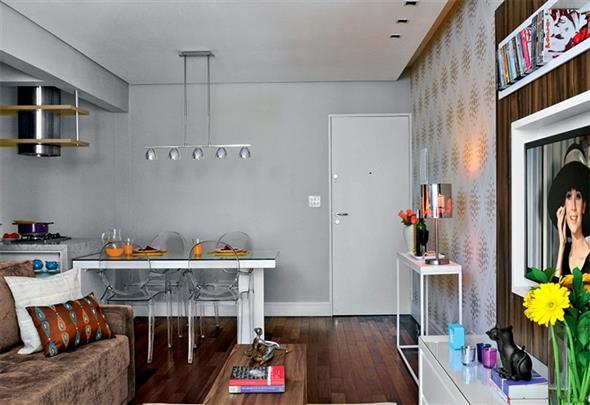 decoração para apartamento conjugado 007