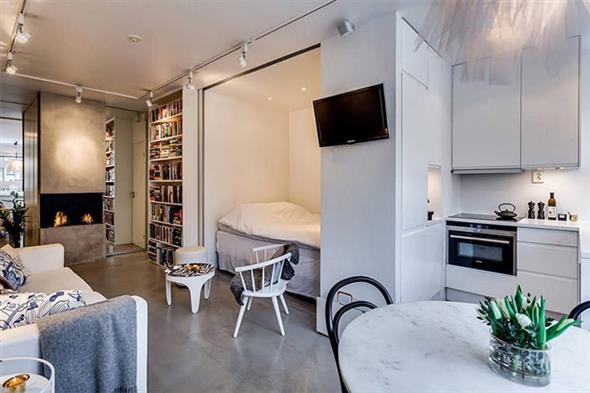 decoração para apartamento conjugado 009