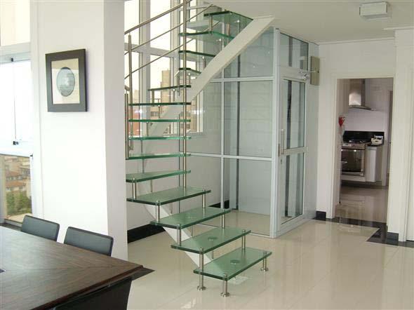Modelos de escada interna 017