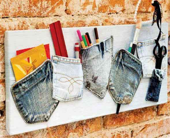 Painel organizador feito de jeans 004