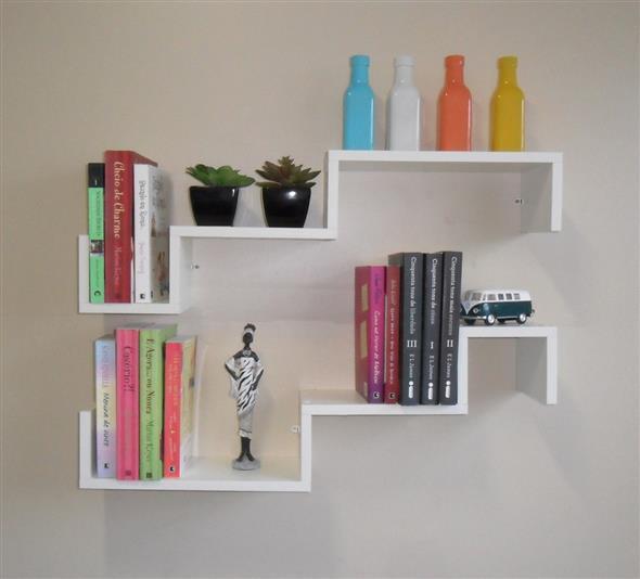 Prateleiras criativas para livros e revistas 010