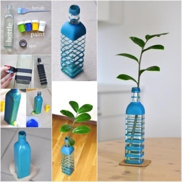 decoração com garrafas 016