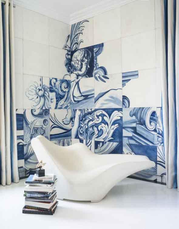 Azulejo português na decoração 009