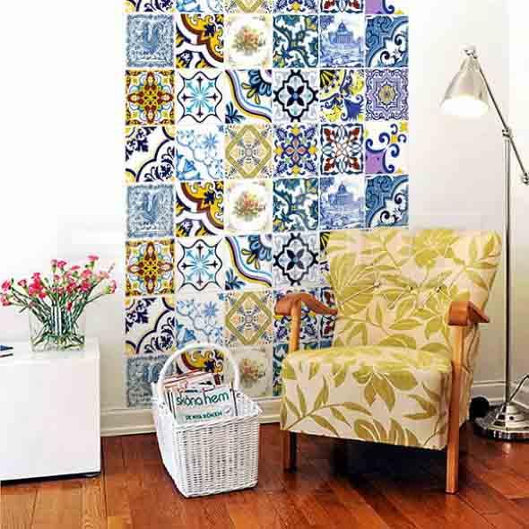 Azulejo português na decoração 010