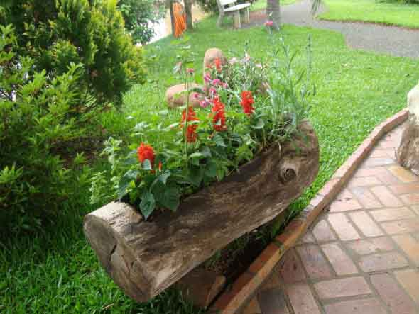 Decoração rústica para seu quintal 018