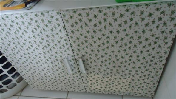 Forrar móveis com tecido 010