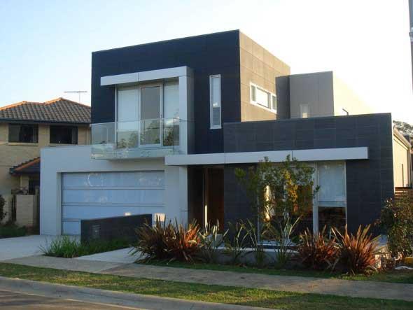 Frente de casas charmosas e requintadas 010