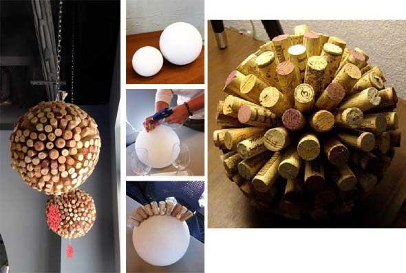 Idéias criativas de decoração com rolhas 013