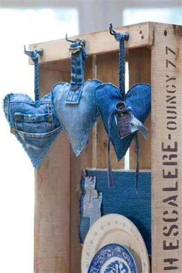 Ideias criativas para reaproveitar jeans usado 002