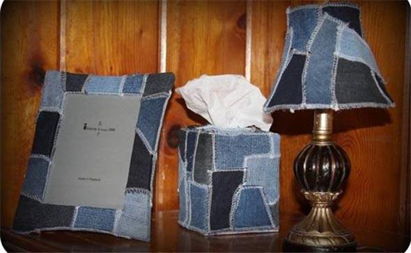 Ideias criativas para reaproveitar jeans usado 022