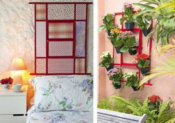 Janelas e venezianas recicladas na decoração 007