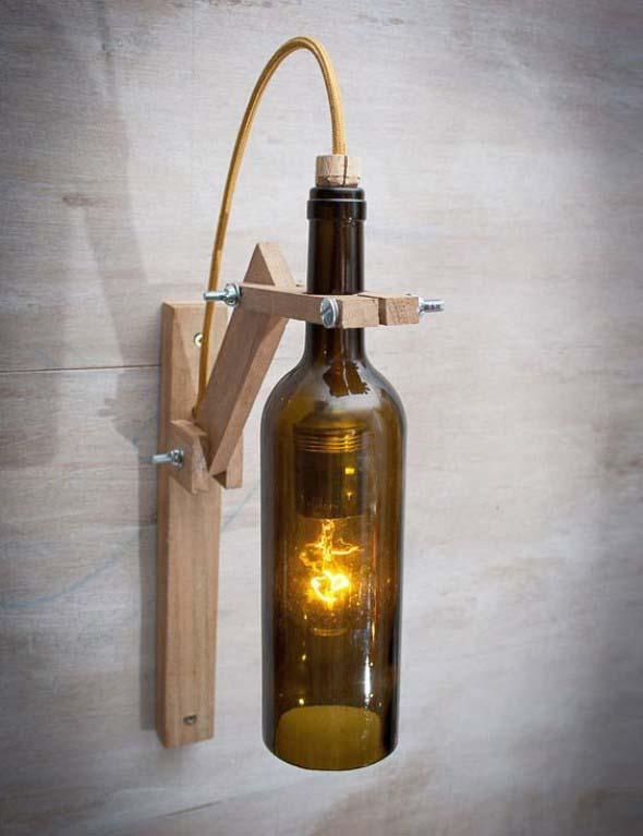 Luminária rústica artesanal 004