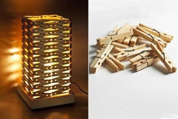 Luminária rústica artesanal 015