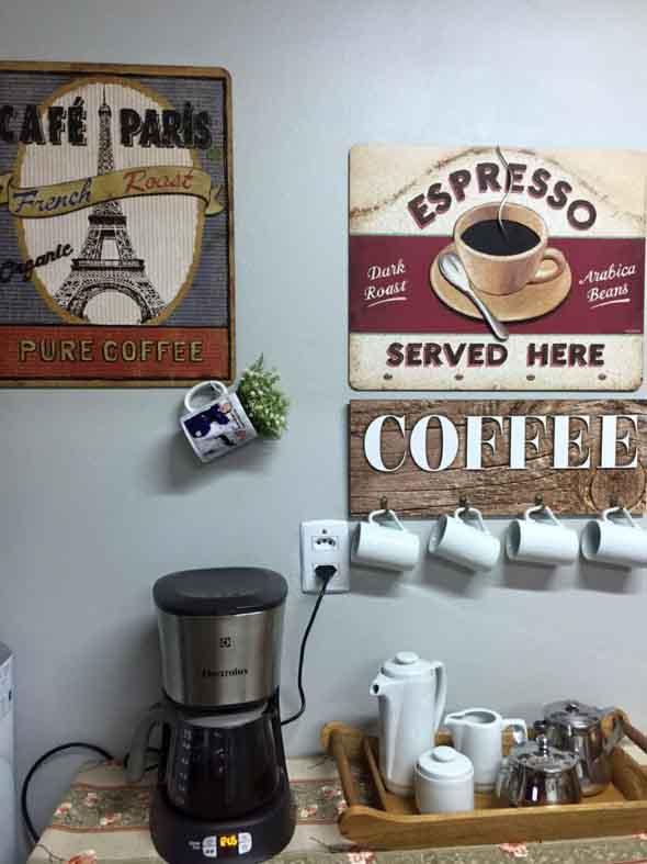 Cantinho decorado para quem gosta de café 010