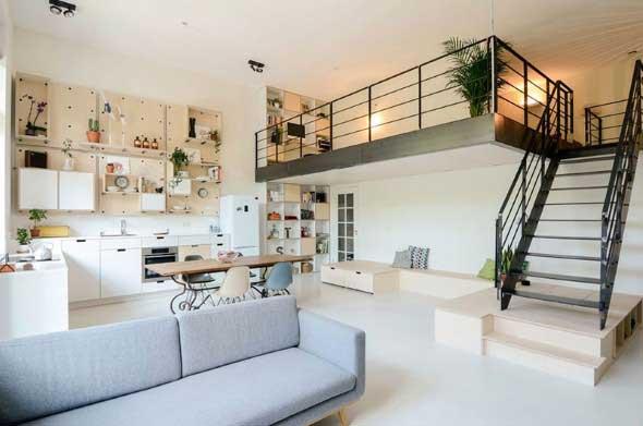 Casa decorada em estilo escandinavo 003